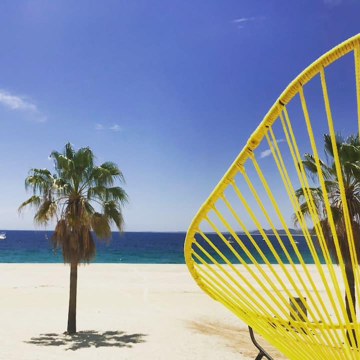 "Beachfront loft ""Charal"" (Garden View)"