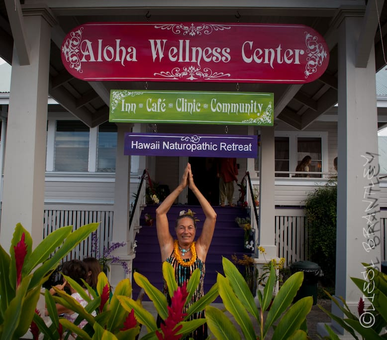 Experience the Aloha spirit at our unique Wellness Center