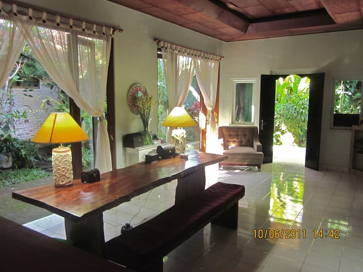 Secluded villa in the heart of Kuta