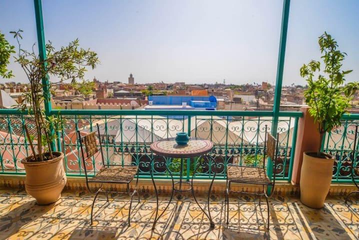 Riad Tasneem - Enjoy an amazing view (Laila)