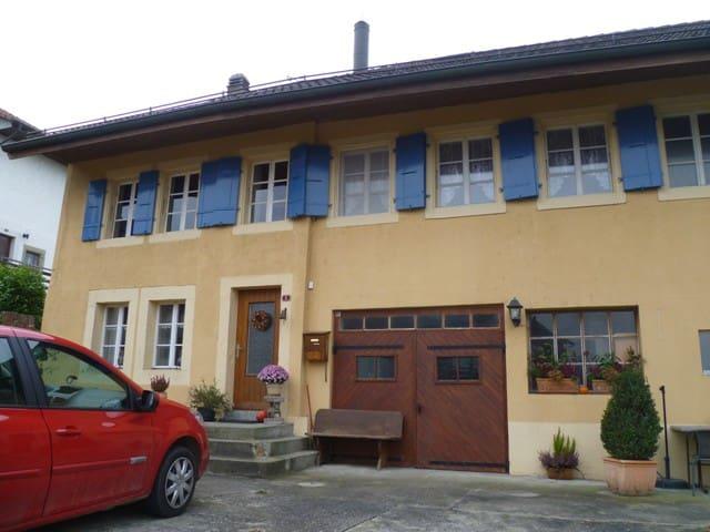 Chambre d 39 h tes chambres d 39 h tes louer trey vaud for Chambre d hote suisse