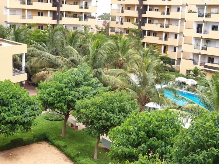 221 Axa Maristes lovely 2BR-gated community w/pool