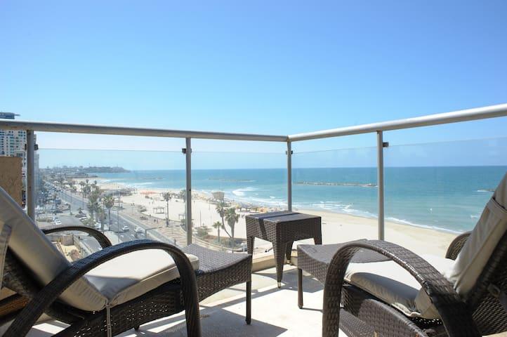 TRUMPELDOR BEACH FRONT-UNIQUE & Rare