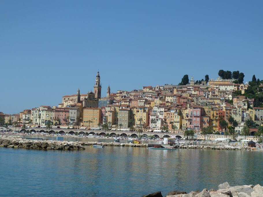 Le cadre idyllique de Roquebrune Cap Martin, Monaco et Menton