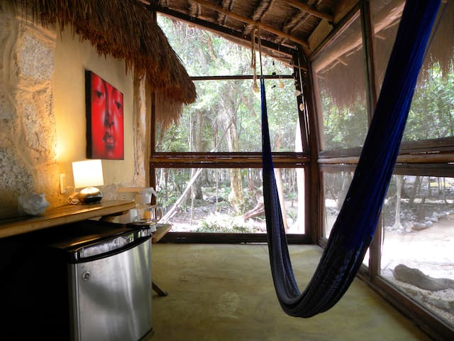 organic yoga ecohotel in the jungle - Akumal - Bed & Breakfast