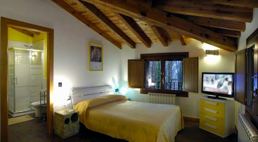 Habitación Junior suite en el corazón de La Rioja