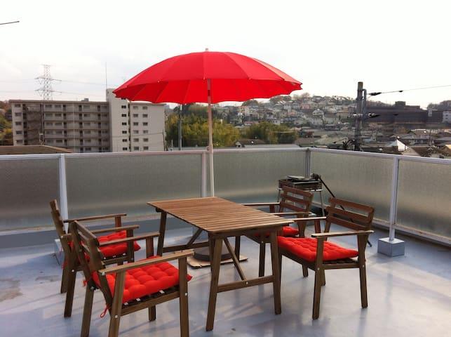 2 room  ' Sakura '  - Machida - Apartamento