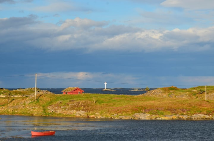 Langholmen private Island - Atlantic Ocean Road