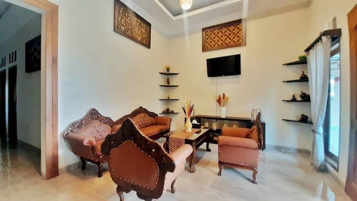 Private Javanese Villa with a Big Yard
