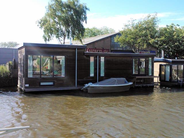 Luxuröses Hausboot in Alkmaar - Alkmaar - Barco