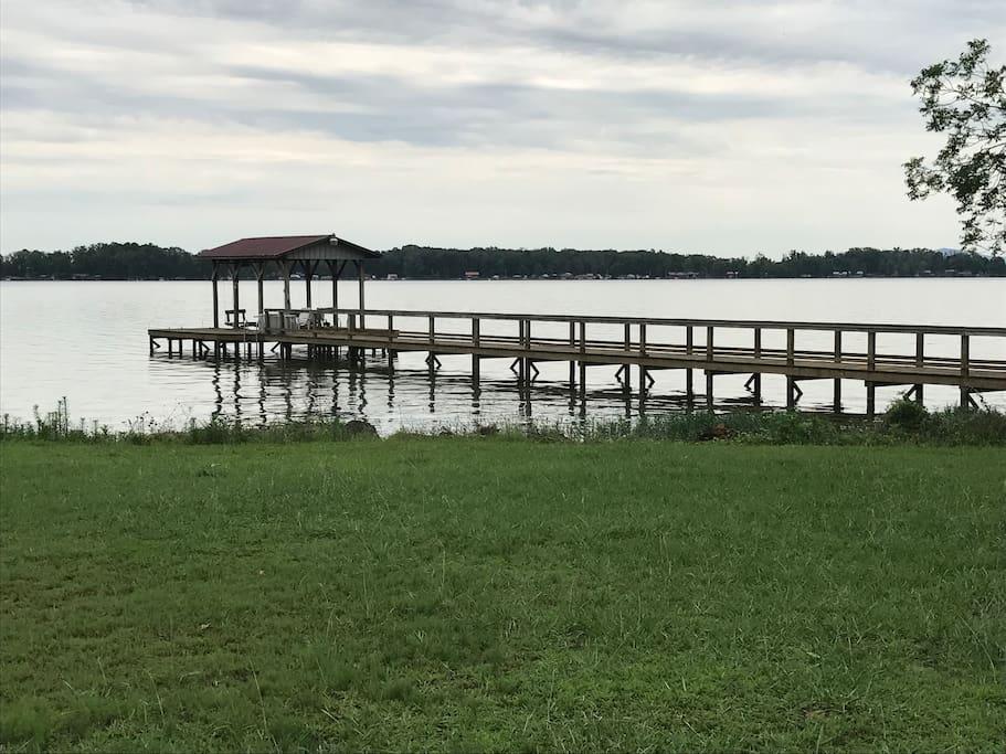 Ahh, the dock!