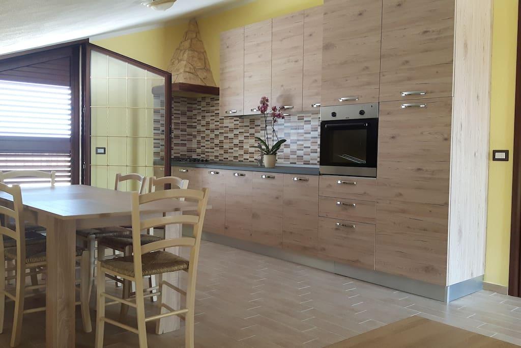 App. Mansarda- cucina