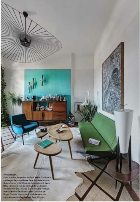 Appartement look 50 39 marseille appartements louer for Appartement design friche gare st charles vieux port