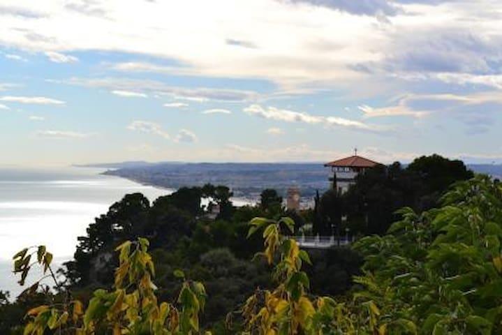 Monolocale vista mare SiroloCentro - Sirolo - Apartamento