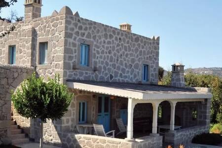 Yarbasan Evleri- Taş Villa - Bodrum