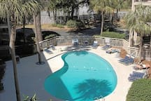 Enjoy the two outdoor pools year round