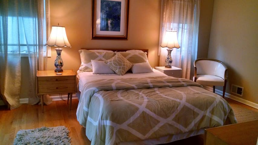 Master Bedroom suite with private bath.