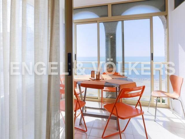 Apartamento con terraza en primera linea - Cullera - Appartement