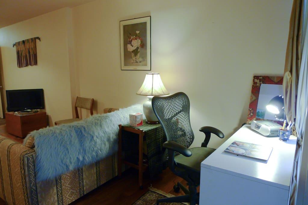 Bright study area