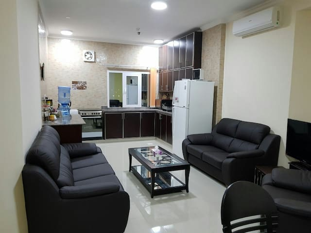 2 bed appartment fully furnished
