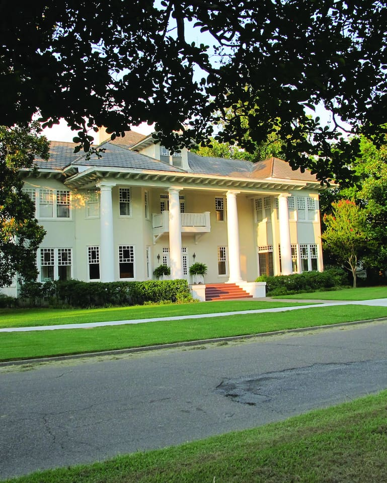 The Thompson House is situated on beautiful Deer Creek in historic Leland, Mississippi.