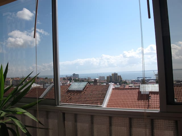 Great view flat near centre - Lisboa - Huoneisto