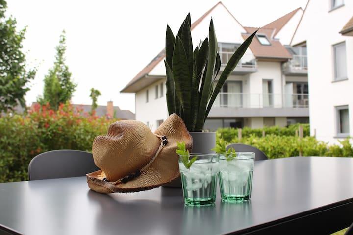 Vakantie in Nieuwpoort Villa Appartement Amaryllis