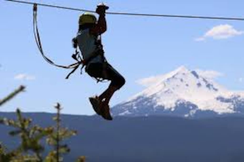 Come have the adventure of a life time and experience the Crater Lake Zipline!