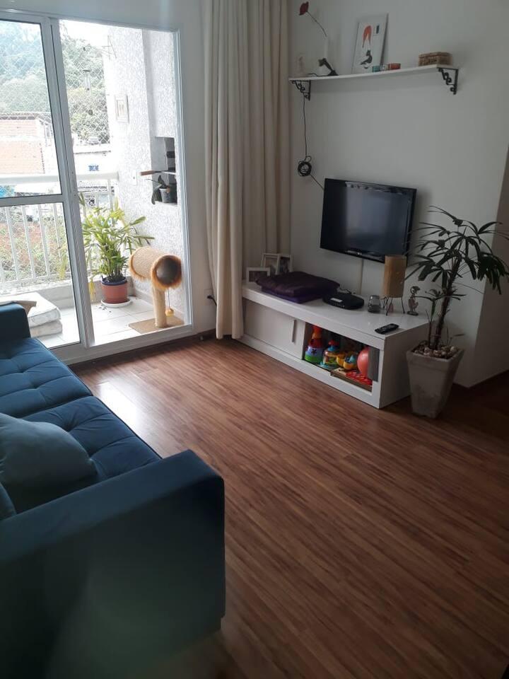 Apartamento para se hospedar no Butantã em SP