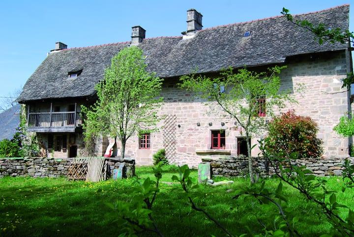 Maison fin XV avec éco-restauration