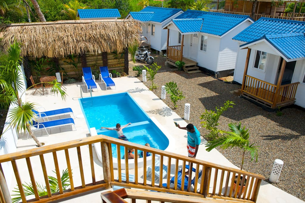 All 3 cabanas located close to the pool