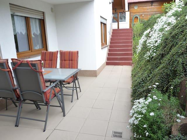Gemütliche Ferienwohnung in Zwingenberg - Zwingenberg - Apartament