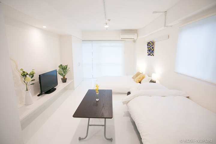 Hijiyamabashi station 1 min with bike & wifi !! - Minami Ward, Hiroshima - Apartment