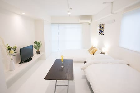 Hijiyamabashi station 1 min with bike & wifi !! - Appartement