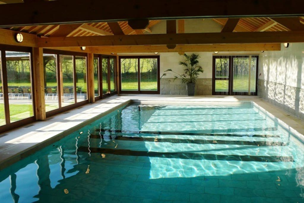 Luxury Holiday Home 22p Indoor Pool Villas For Rent In Bertogne Walloon Region Belgium