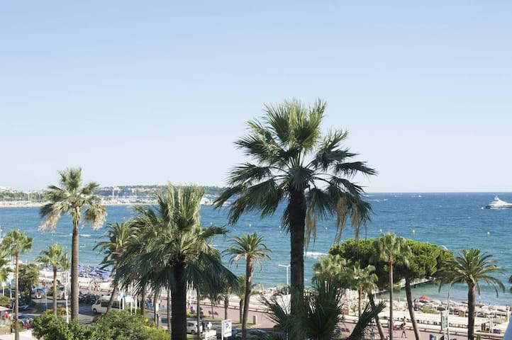 Direct sea and beach view from your large 8sq meter balcony.