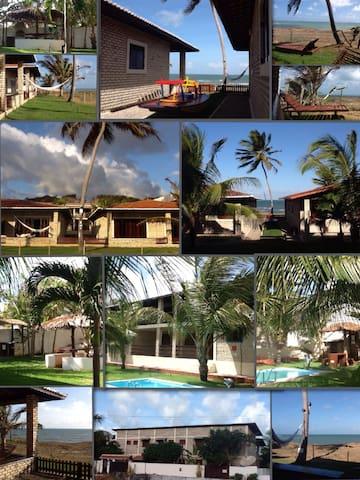 NATALCARAUBASVILLAGE / Brasil - praia Caraubas - บ้าน