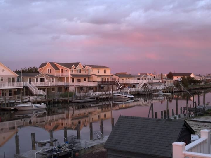Waterfront Home, 3BR near LBI & AC