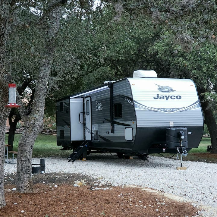 Camp Blanco Jayco Bunkhouse