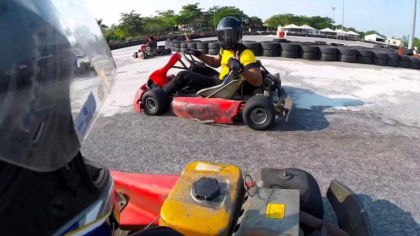Nearby: Cyberjaya Go Kart (pic from Google Image)