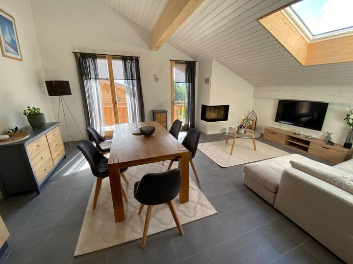 Villars s/Gryon appartement cosy