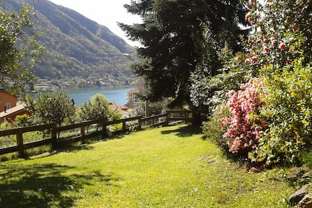 Cozy house with lake view - Omegna