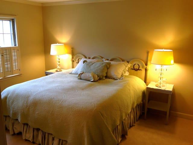 Private King Bedroom in Vinings - Atlanta - Huis