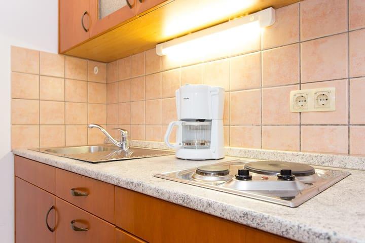 Kitchen with everythink