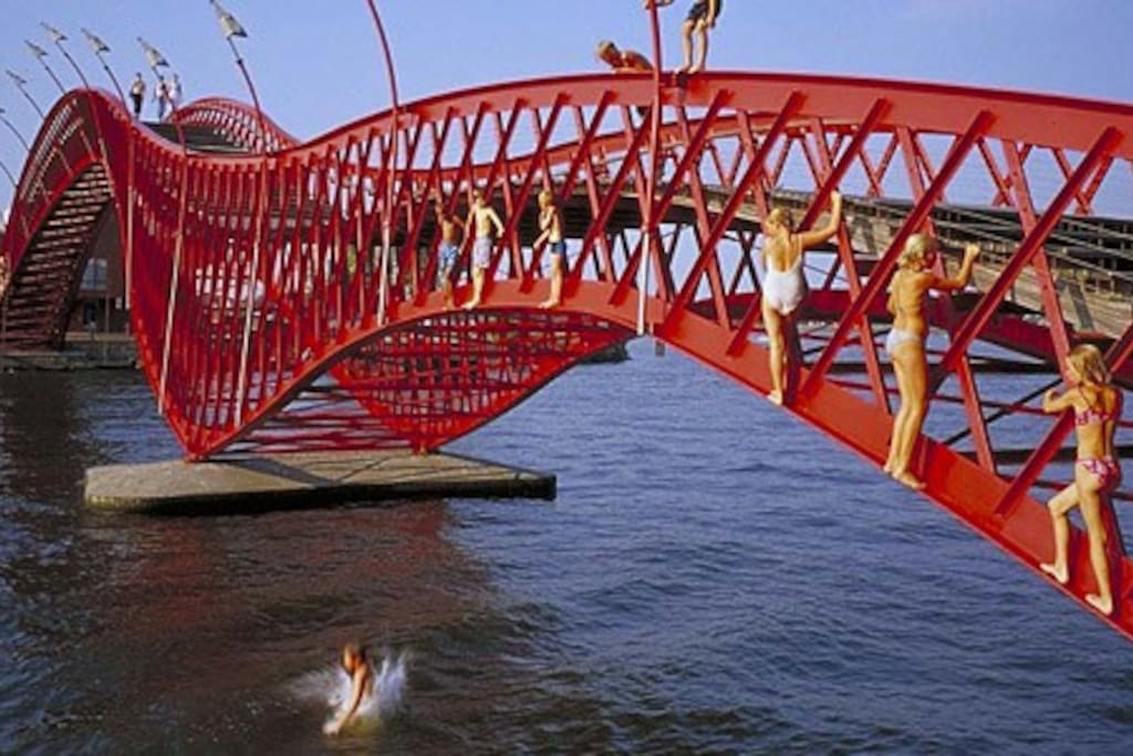 ...and don't jump off our dragon bridge!