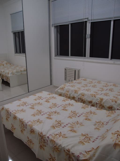 2 beds room in Copacabana