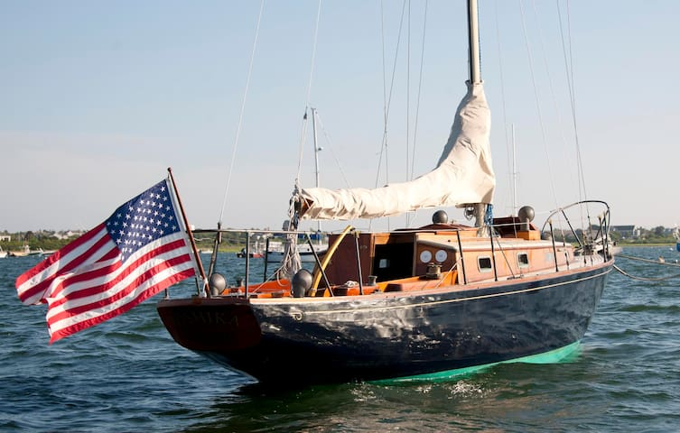 Nantucket Island on classic yacht - Nantucket - Barco