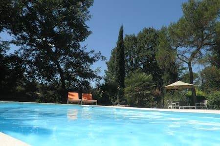 Beautiful villa+studio, pool garden - Fayence