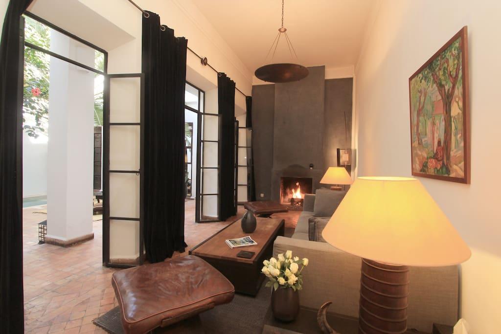 Riad dar zelda elegance arabe chambres d 39 h tes louer for Chambre zelda