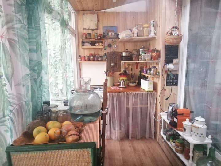 Acogedor apartamento en finca ecológica